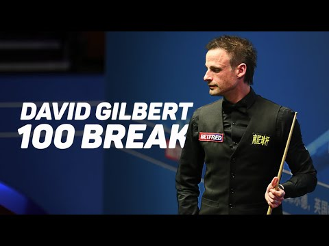 David Gilbert Makes 100 Exactly | Betfred World Championship [R1]