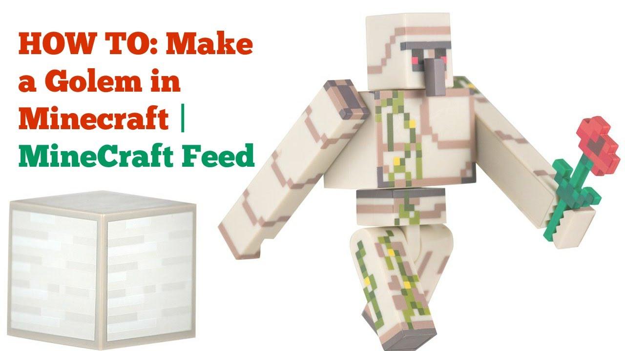 minecraft golem how to make