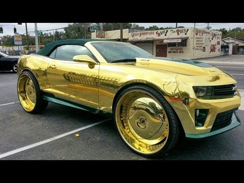 Florida's most-blinged Camaro ZL1 brings out the haters in ...