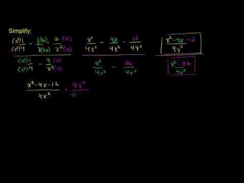 Complicated Rational Expressions