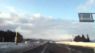 【車載動画】函館江差自動車道走行動画(北斗茂辺地IC~函館JCT)