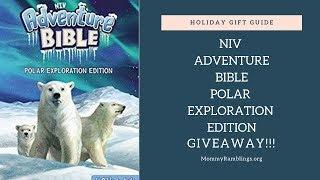 NIV Adventure Bible Polar Exploration Edition Giveaway