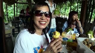 檳城品嚐水果榴槤貓山王 + 喜歡你 - CK + 榴槤飄香 - 雷小姐 CK -- CK u0026 Fans 唱遊馬來西亞之旅 190826
