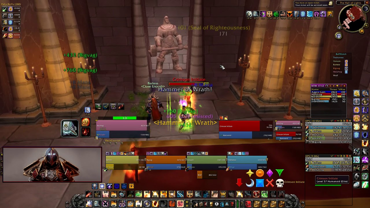 Serious Disscussion on Paladin Tanking  - Page 11 • WoW Classic