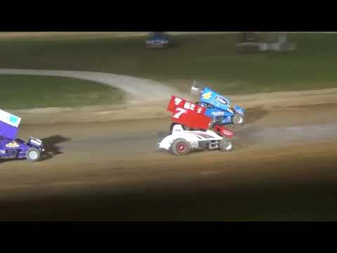 Plymouth Dirt Track Sprint Car Feature Highlights June 15 2018