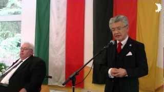 Yasuo Inadome (EAK) zum Tag der Heimat des BdV-Kreisverbandes Viersen in Willich-Anrath 2012