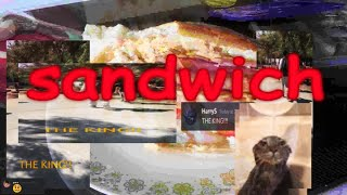 making a sandwich but its my 2k sub special