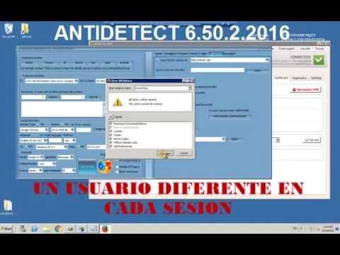 Antidetect 6 50 2 Completamente Activado