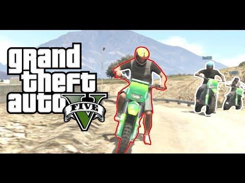 GTA 5 - Funny Online Motocross Dirt Bikes race, Grand Theft Auto ...