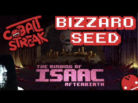 Isaac Afterbirth - NLSS - The Bizzarro Seed - Cobalt Streak