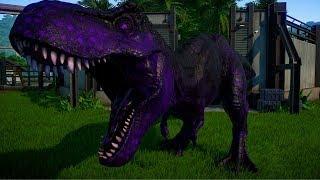 T Rex vs Indoraptor, Indominus Rex, Spinosaurus, Giganotosaurus - Jurassic World Evolution
