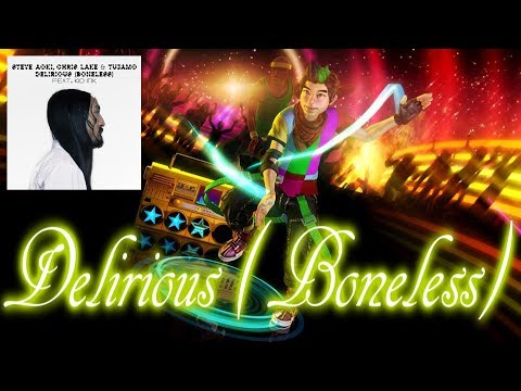 Dance Central-Delirious (Boneless) by Steve Aoki ft. Kid Ink [FANMADE]