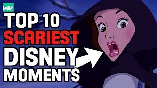 Top 10 Scariest Moments In Disney Movies