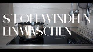 Stoffwindeln einwaschen