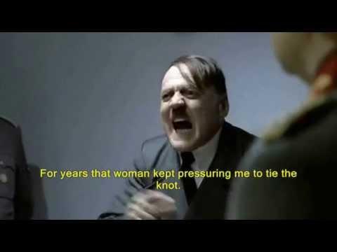 Hitler Finds Out Eva Got Married