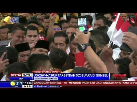 Jokowi Targetkan Kemenangan 50 Persen di Sumsel Mp3