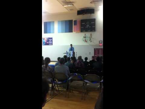 Bryce's 8th Grade Promotion at Goldendale Middle School