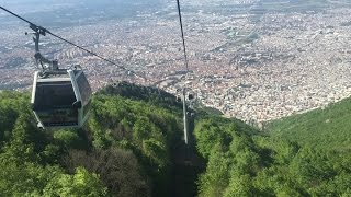 Teleferik Bursa رحلة في تلفريك بورصة Youtube