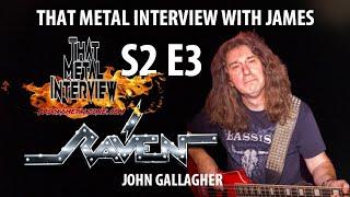 John Gallagher of RAVEN S2 E3