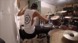 EMMURE - Russian Hotel Aftermath drum cover