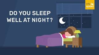 Do you sleep well at night? Are you irritated as your partner snores at night?