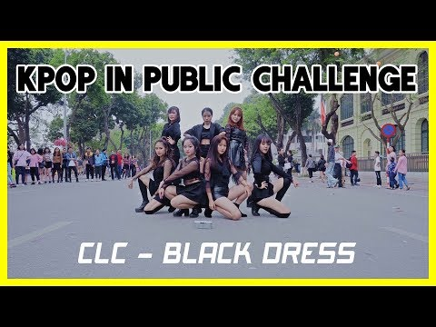 [KPOP IN PUBLIC CHALLENGE] CLC _ BLACK DRESS | Dance cover by GUN _ 1theK Dance Cover Contest