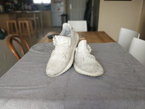 | LA ZONE | CLEANING YEEZY BOOST 350 V2 triples white