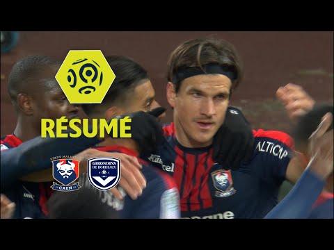 SM Caen - Girondins de Bordeaux (1-0)  - Résumé - (SMC - GdB) / 2017-18