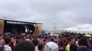 Bring Me The Horizon - The House of Wolves (Warped Tour 2013), CIRCLE PIT, New York