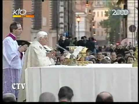 Papal Mass at the Basilica of St. John Lateran, May 22, 2008