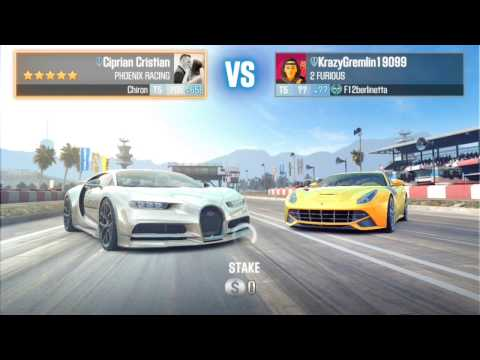CSR Racing 2 Bugatti Chiron in LIVE RACES