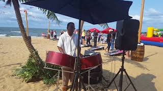 Ricky Micou on Steel Drums