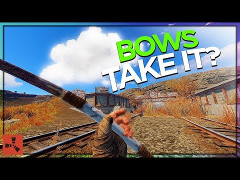 BOWS vs. MILITARY TUNNELS! (DUO VANILLA RUST #6 S9) thumbnail