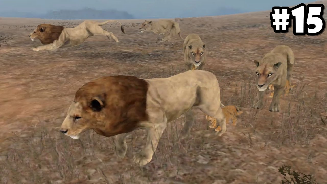 Wild Animals Online - Pack Of Lions - Androidios -3940