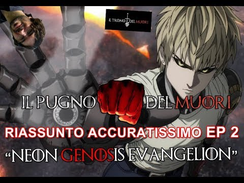 RECENSIONE ONE PUNCH MAN EPISODIO 2 RIASSUNTO ACCURATISSIMO 'NEON GENOSIS EVANGELION'