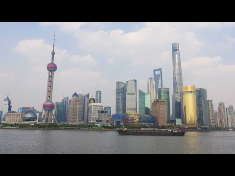 Shanghai - The Bund by day and night 4K
