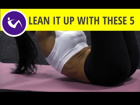 Lean it up with 5 best upper abs exercises