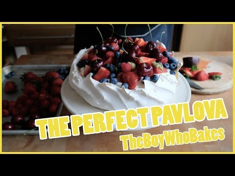 Best Ever Pavlova - The Boy Who Bakes