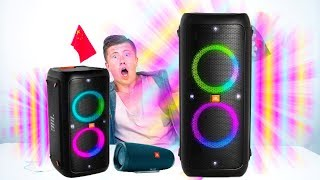 JBL шокировали! НОВЫЕ колонки - JBL Charge 4, JBL PartyBox 200 и PartyBox 300