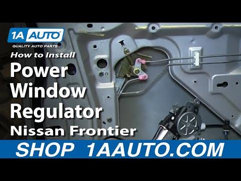 Replace 1993 1997 nissan altima power window regulator for 1999 nissan altima power window switch