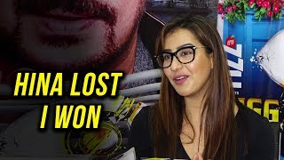Shilpa Shinde REACTS on Hina Khan LOSING Bigg Boss 11 | Press Conference