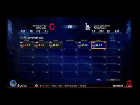 2021 world series game 7 vs. the Dodgers! MLB® The Show™ 17 franchise video