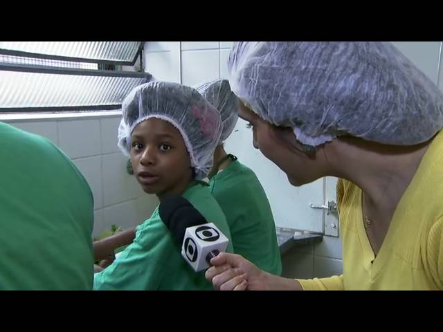 Projeto muda rotina e alimentação de alunos de escola pública em Carapicuíba
