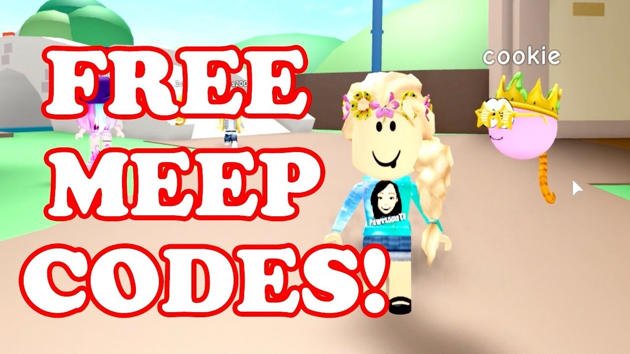 Roblox Meep City Codes Get Robux Promo Code Roblox Meep Codes Free Stuff Meep City Gamingwithpawesometv Youtube