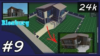 WILLKOMMEN BEI BLOXBURG ROBLOX - HOW TO BUILD URBAN HOUSE - FAZENDO CASA MODERNA #9