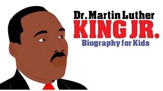 Spaß-Cartoon auf Dr. Martin Luther King Jr für Kinder! Dr. Martin Luther King Jr Bio: Die Schwarze Geschichte Monat