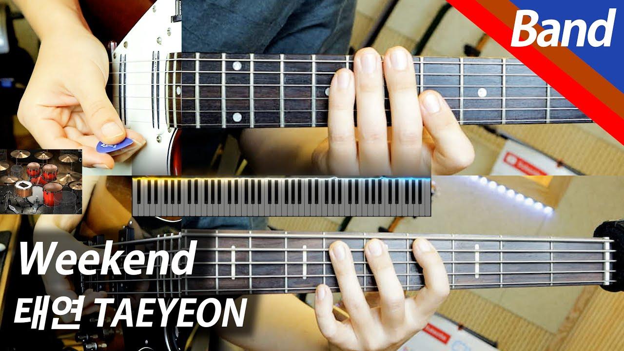 태연 - Weekend | 밴드 커버