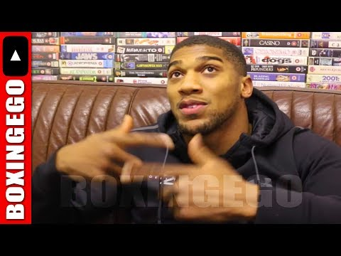 (IT'S ON NOW!!!) ANTHONY JOSHUA WANTS TO KNOCKOUT JOSEPH PARKER -HEARN