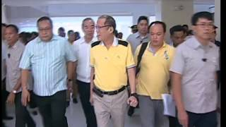 Inauguration of the RTU Sen. Neptali A. Gonzales Academic Hall 8/27/2015