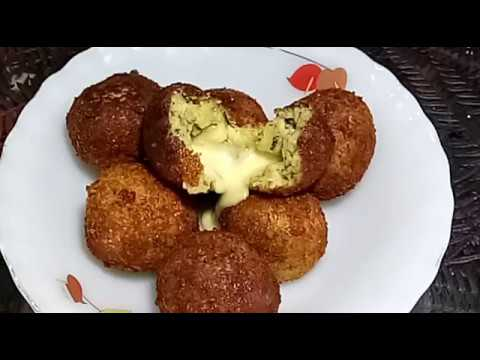 How to make cheese potato balls by recipes junction in Urdu/hindi